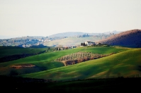 Valdorcia in Tuscan countryside