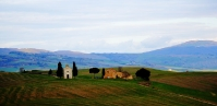 Vitaleta in Orcia valley - Tuscany