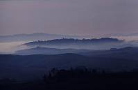 Tuscany hills near Volterra