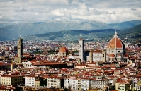Florence cathedral and town hall