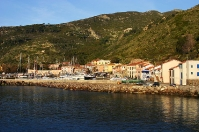 Port at Capraia island