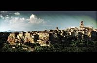 Town in Maremma - Pitigliano panorama