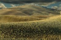 Tuscany hills near Pienza