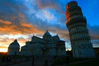 Leaning tower square - The heart of Pisa