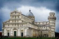 Pisa leaning tower and Cathedral