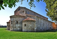 Pisa Medieval Church - San Piero a Grado