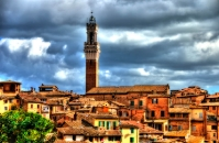 Siena civic tower