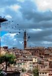Siena Mangia Tower - Torre del Mangia
