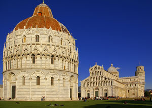 Picture Pisa Cathedral and Baptistery - Picture Karl Borg