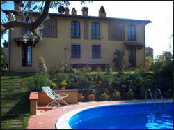Villa near Castelfiorentino with Pool